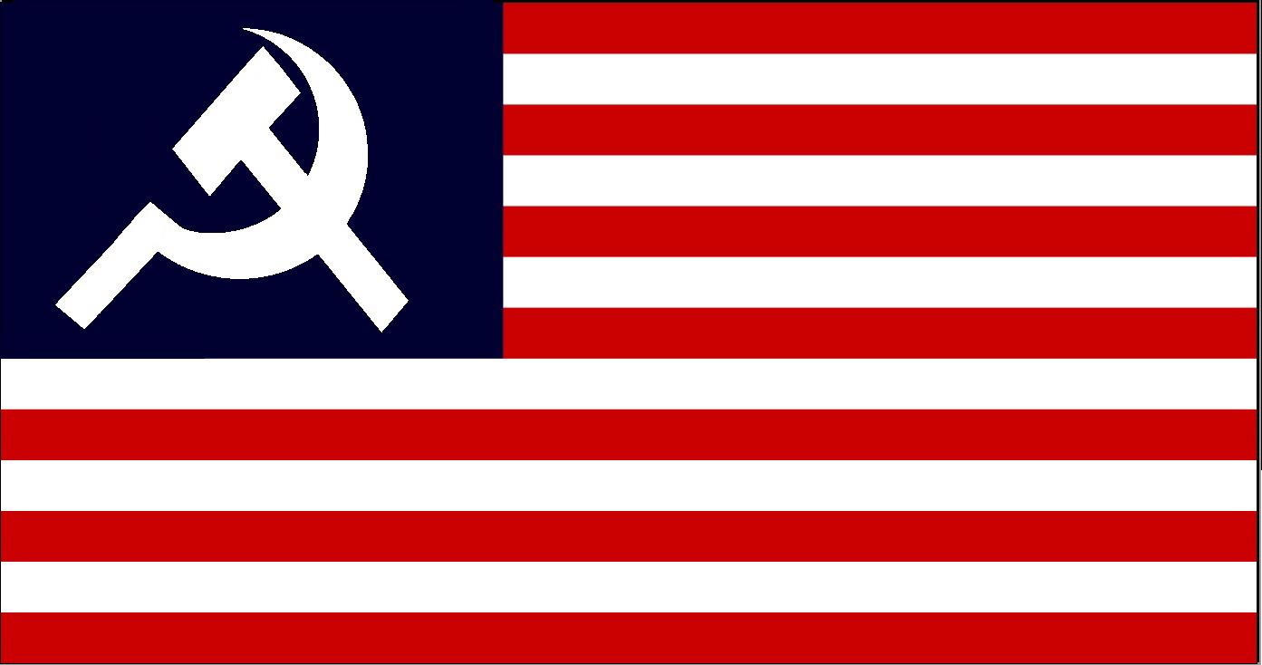 communist california flag